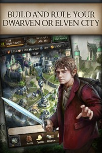 Hobbit iphone and ipad app game