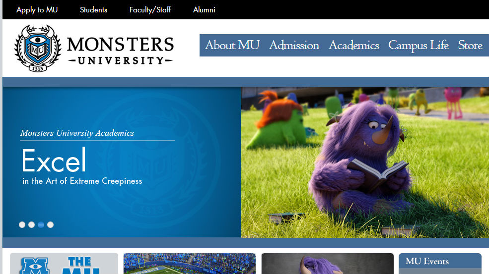 Monsters University And A Creative Form Of Content Marketing