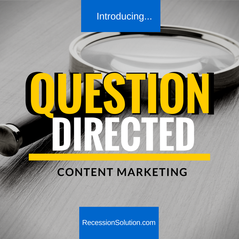 question directed content marketing