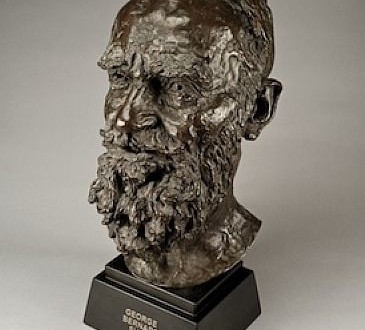 George Bernard Shaw by Sir Jacob Epstein from Bowman Sculpture