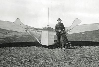 Gustave Whitehead first to fly