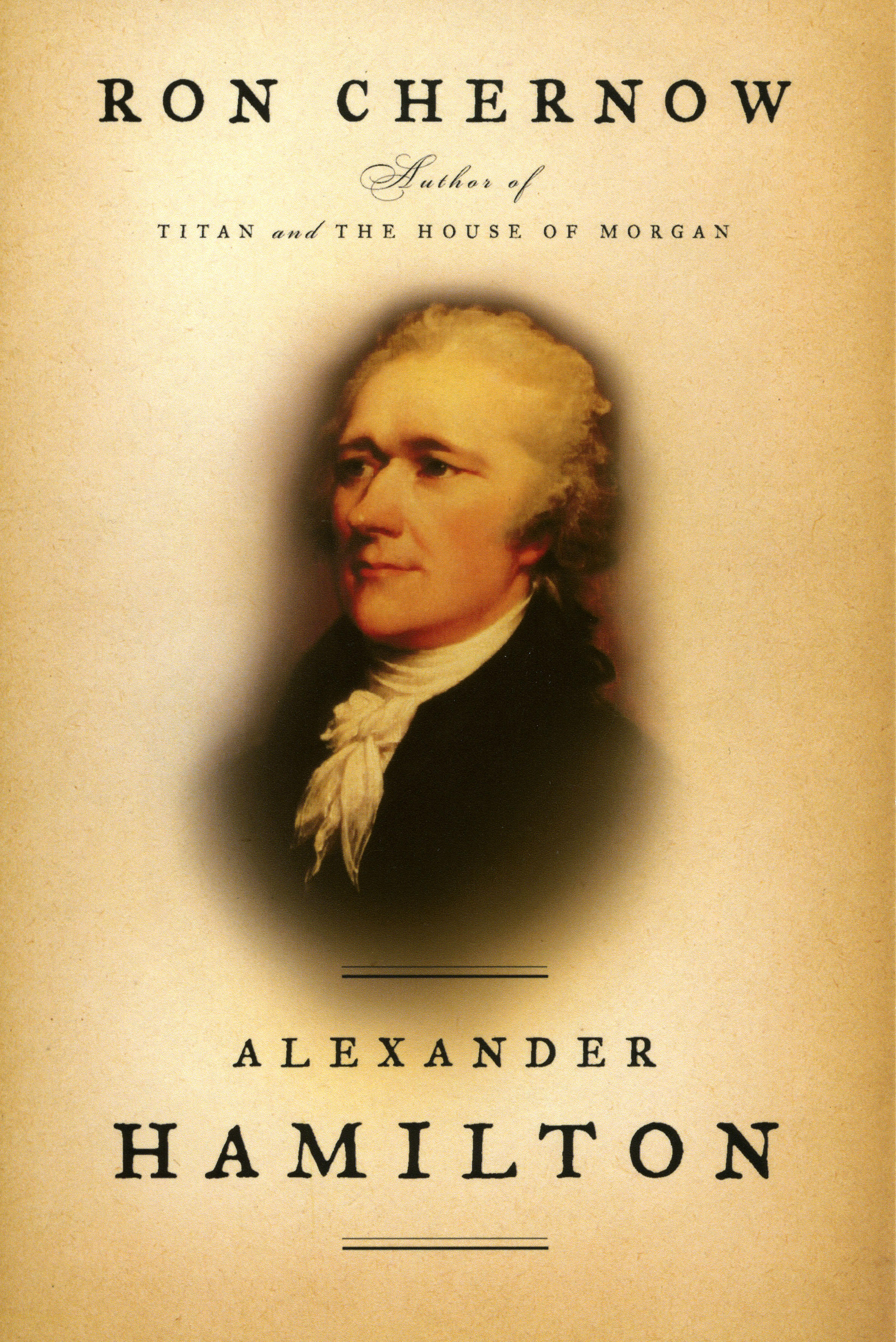 alexander hamilton book by ron chernow