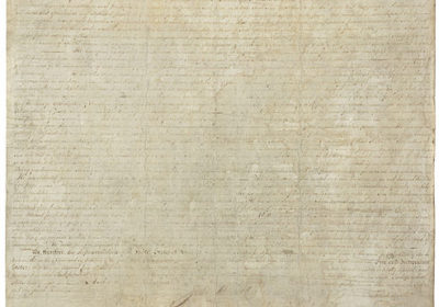 picture of the Declaration of Independence