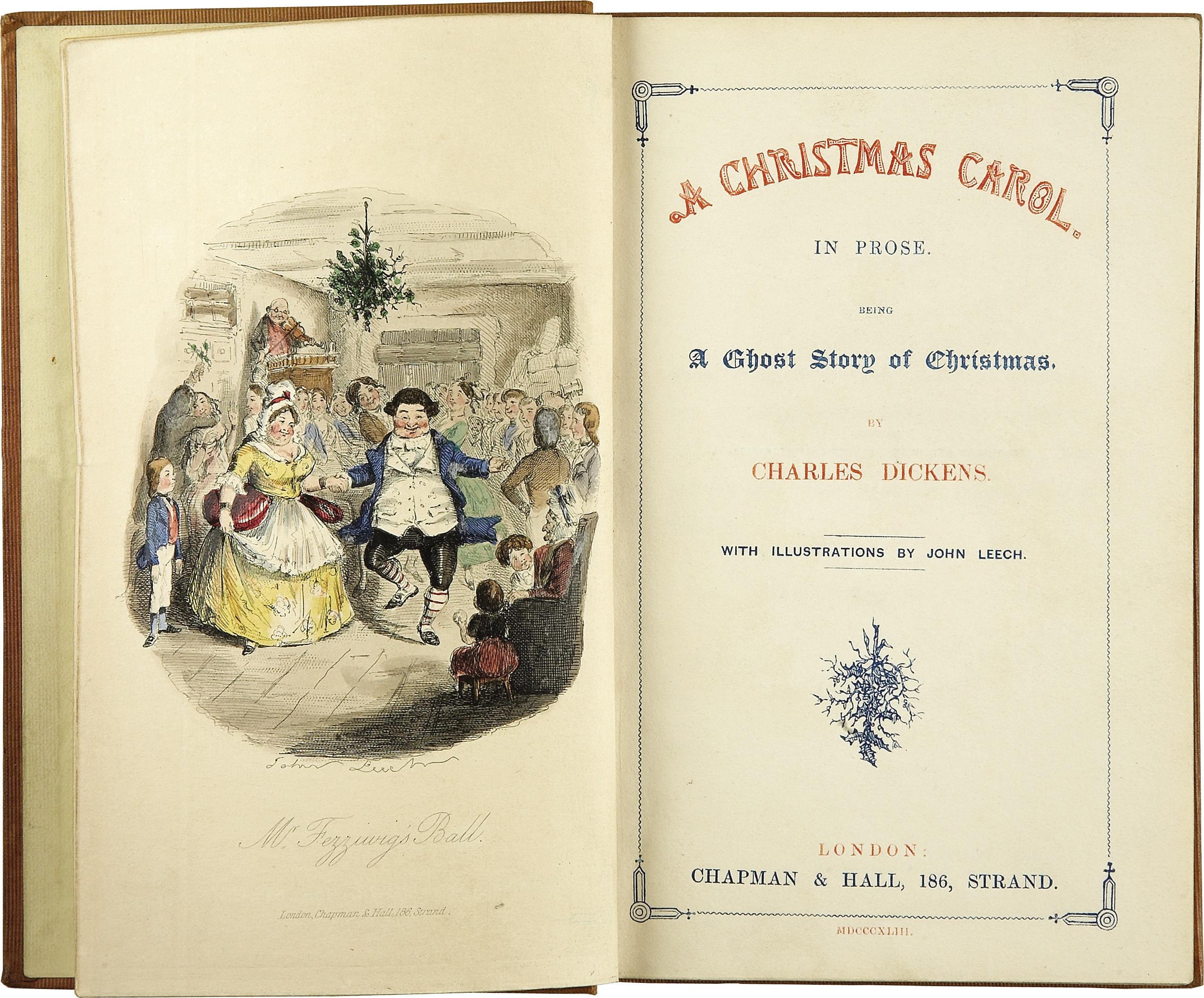 charles dickens, a christmas carol, original book