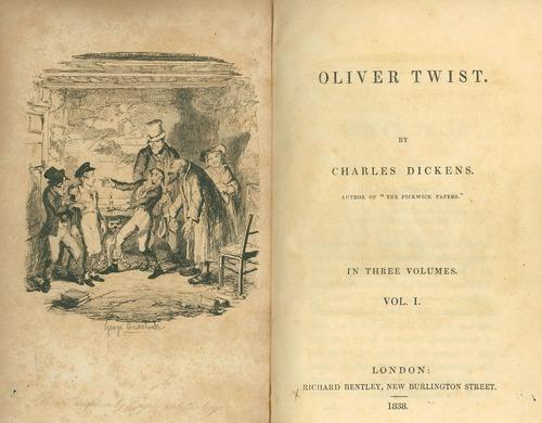 Charles Dickens, Oliver Twist, original book